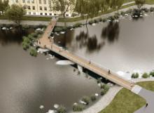 Invigning av ny bro över Tidan