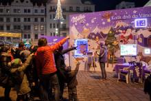 Milka postaví vánoční městečko s obřím adventním kalendářem