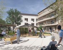 Wästbygg bygger äldreboende i Hässleholm