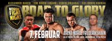 Nordic Fight Night - fire nordmenn i ringen på Viasat 4