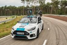 Prodloužení partnerství s týmem Sky oslaví Ford na Tour de France speciálně upraveným Focusem RS