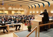 Pressinbjudan till regionfullmäktiges sammanträde den 28 november