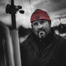 Johan Broman guidar båtbyggare i sportfiske