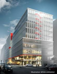 Arcona tillsammans med Veidekke bygger S:t Eriks ögonsjukhus