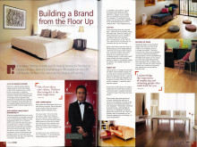 Evorich 1st Featured on @Home Magazine by Home-Fix