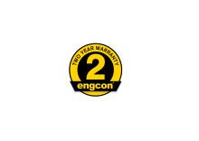 Engcon introducerer to års garanti på deres tiltrotatorer