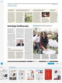 Neue Zürcher Zeitung: TDSoftware launcht App der NZZ mit neuen Lesemodi