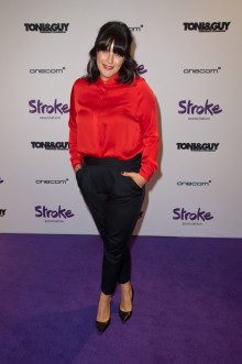​Anna Richardson calls on residents in Leicester to take a Step Out for Stroke
