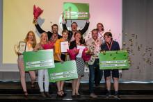 Regionala vinnarna i entreprenörstävlingen Venture Cup