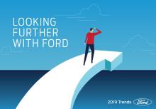 Fords trendrapport för 2019 tittar närmare på konsumenters beteendeförändringar kopplat till ny teknologi
