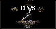 Elvis, live on screen med symfoniorkester – The Wonder of You - till Göteborg och Stockholm 2018