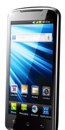 LG lanserar 4G-mobilen Optimus LTE i Sverige