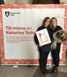 Barnrättsbyrån tilldelas Katarina Taikon-priset 2018