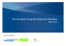 The Swedish Drug Development Pipeline 2010