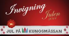 Julen invigs på Kungsmässan med både tomteparad och korsstygn!