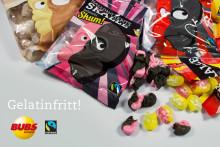 Gelatinfritt godis från svenska BUBS!