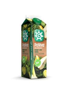 ProViva välkomnar nu ännu mer frukt och grönt i hyllan! - Prova nya fräscha smaken Spenat-Lime-Fänkål!