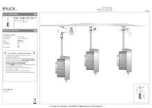 Produktblad Bruck Star Clareo LED111 snabbkoppling som pdf.