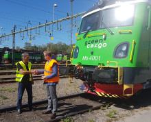 De första Transmontana-loken på plats hos Green Cargo