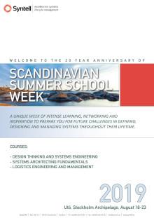 Har du sett vår broschyr om Scandinavian Summer School Week 2019?