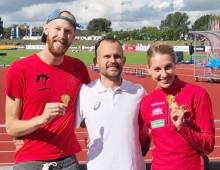 Medaljregn över Karlstads universitets studenter i helgen