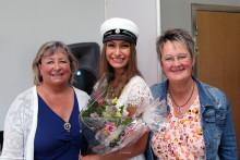 Emmy belönas med omvårdnadsstipendium