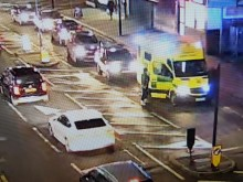 Appeal after ambulance crew abused by motorist