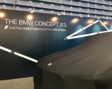 BMW Concept iX3 på eksklusivt Norgesbesøk