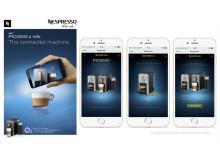 Nespresso utilizzerà il riconoscimento visivo di Shazam per le sue campagne pubblicitarie in tutto il mondo.