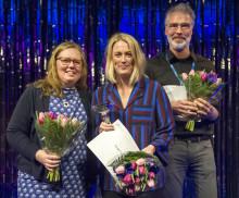 Therese är bäst i Sverige på konstinramning