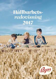 Pågen hållbarhetsredovisning 2017