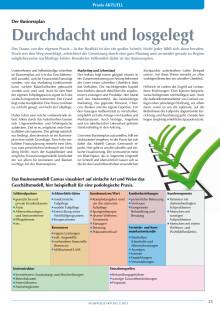 Durchdacht und losgelegt: Der Businessplan