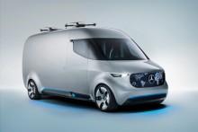 Droner, joystick og automatisk pakkehåndtering: Fremtidens varebil fra Mercedes