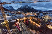 ROCKWOOL isolasjon når nye høyder med Tindesenteret i Åndalsnes