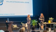 """Deltagare på Nolia Ledarskap i Umeå: """"Det är en fantastisk mötesplats där man får träffa andra ledare"""""""