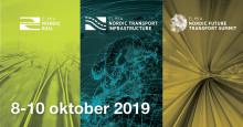 Pressinbjudan till Elmia Nordic Rail, Elmia Nordic Transport Infrastructure och Elmia Nordic Future Transport Summit