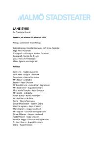 Pressmaterial till Jane Eyre
