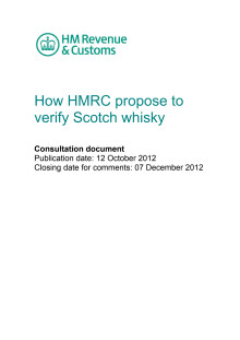 HMRC verification of Scotch whisky
