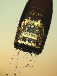 PIPER-HEIDSIECK, THE EXCLUSIVE CHAMPAGNE OF THE OSCARS®,  TO SERVE THREE VINTAGES OF PRESTIGE CUVEE 'RARE'  AT GOVERNORS BALL CELEBRATION