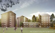 Akademiska Hus och Lindbäcks skapar student- och forskarbostäder i Luleå