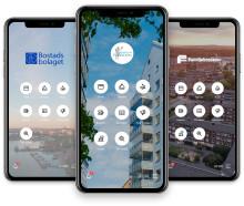 Familjebostäders hyresgäster i Göteborg testar digitala boendetjänster i app