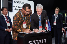 GMF AEROASIA SIGNS LOI WITH SATAIR FOR EXCLUSIVE MATERIAL SUPPORT  FOR 3RD PARTY AIRBUS MAINTENANCE CHECKS