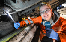 Young engineers Melissa and Maisie urge girls to apply for eight new engineering apprenticeships