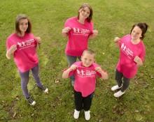 Fundraising team kick start fundraising in memory of Poppy