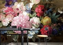 Midbec lanserar tapetkollektionen Kent med pampiga blommor