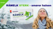 NYHET! Råmelk STERK - smører halsen