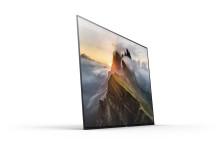 Sony avslører pris og tilgjengelighet for BRAVIA® A1 OLED 4K HDR TV