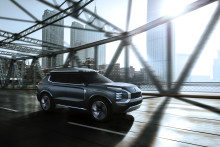 Mitsubishi Motors stiller ut i Shanghai