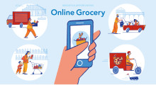 Spannende Möglichkeiten im schnell wachsenden Online-Lebensmittelhandel mit Smart Packaging