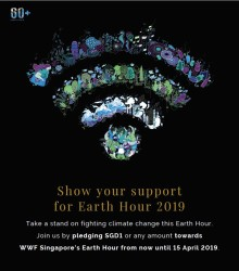 Lights Out at Pan Pacific Hotels Group in support of Earth Hour 2019